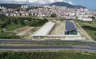 Altınordu Şehirlerarası Otobüs Terminali Yüzde 80 Oranında Tamamlandı