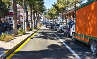 Arapgir'in Caddelerini Asfaltlanıyor