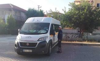 Kula'da Korsan Taşımacılığa Karşı Denetim