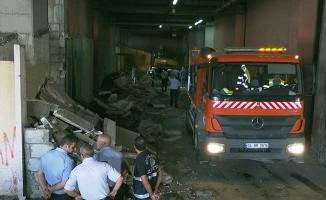 Otogardaki metruk binalar yıkıldı