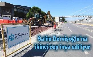 Salim Dervişoğlu'na İkinci Cep Durak İnşa Ediliyor
