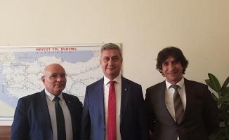 YOLDER Yönetimi Ankara'da Ziyaretlerde Bulundu