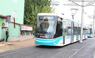 Akçaray Tramvay Hattı Plajyolu'na Kadar Uzatıldı!Deneme Sürüşleri Başladı