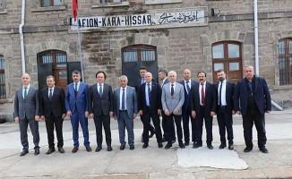 TCDD GENEL MÜDÜRÜ AFYONKARAHİSAR'DA