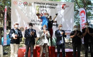 Atlı Dayanıklılık Türkiye Şampiyonası Ödül Töreni Bozanönü İstasyonunda Yapıldı