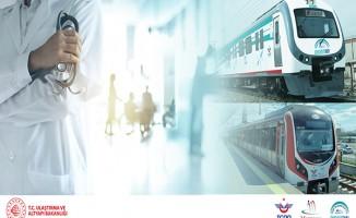 Sağlık Çalışanlarına Ücretsiz Seyahat Uygulaması Yıl Sonuna Kadar Uzatıldı