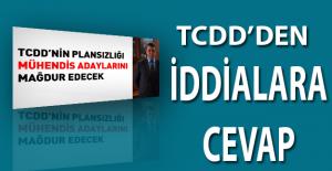 TCDD'den O İddialara Cevap