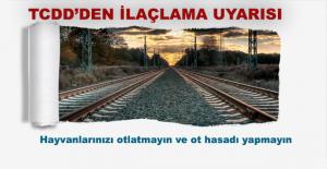 Afyonkarahisar - Konya  Demiryolunda Ot Mücadelesi Nedeniyle İlaçlama Yapılacak