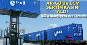 Ar-Gü Türkiye'de ECM sertifikası alan 3. firma oldu