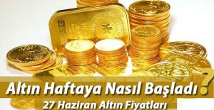Çeyrek altın fiyatları - 27.06.2016 Cumhuriyet altını ve 22 Ayar bilezik gram fiyatı