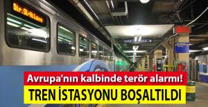Şüpheli valizler nedeniyle tren garı boşaltıldı