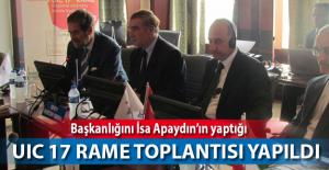 UIC 17. RAME Genel Müdürleri Toplantısı İstanbul'da Düzenlendi