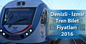 Denizli Nazilli Aydın Söke İzmir 2019 Tren Bilet Fiyatları
