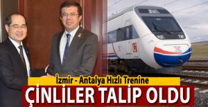 İzmir Antalya Hızlı Trenine Çinliler Talip Oldu