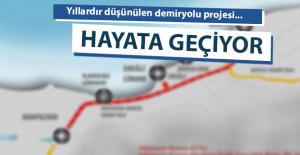 Adapazarı - Bartın Demiryolu Projesi Hayata Geçiyor