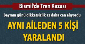 Diyarbakır Bismil'de Tren Kazası 5 Yaralı