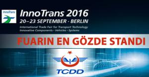 Innotrans 2016 Fuarının Gözdesi TCDD Standı
