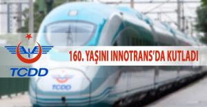 TCDD 160. yaşını InnoTrans'da kutladı
