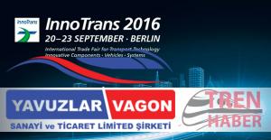 Yavuzlar Vagon Innotrans 2016 Fuarında