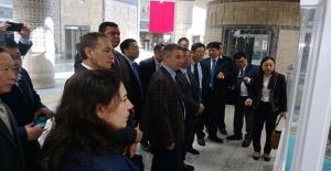Çin Heyeti Marmaray'ı İnceledi