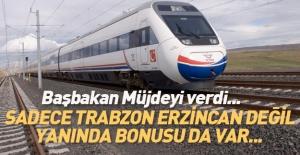 Başbakan'dan Trabzon'a demiryolu sözü