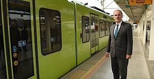 Bursa Ankara'dan metroya destek istiyor