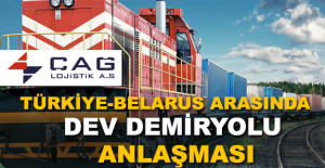 Çağ Lojistik'ten Dev Demiryolu Anlaşması