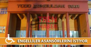 Zonguldak Garda Engelliler Asansörlerini İstiyor