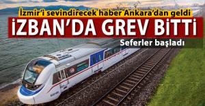 İZBAN'da grev bitti! İzmir'i sevindiren haber Ankara'dan geldi