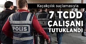 Kaçakçılık suçlamasıyla 7 TCDD çalışanı tutuklandı