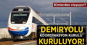 Demiryolu Koordinasyon Kurulu Kurulacak