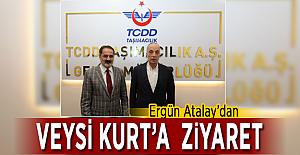 Ergün Atalay'dan Veysi Kurt'a ziyaret