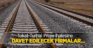 Tokat-Turhal Proje danışmanlık ihalesinde davet edilecek firmalar