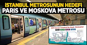 İstanbul Metrosunun Hedefi Paris ve Moskova Metrosu