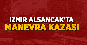 İzmir Alsancak'ta manevra kazası!