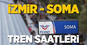 İzmir Soma Tren Saatleri 2017 Güncel