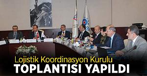 Lojistik Koordinasyon Kurulu toplantısı yapıldı