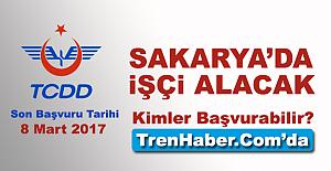 TCDD Sakarya'da İşçi Alacak! Kimler Başvurabilir?