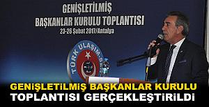 Türk Ulaşım-Sen Genişletilmiş Başkanlar Kurulu Toplantısı Gerçekleştirildi