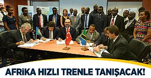 Yapı Merkezi Afrikayı Hızlı Tren ile Tanıştıracak!