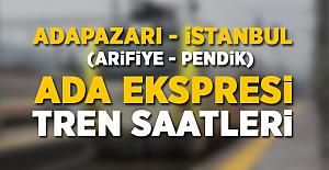 Adapazarı (Arifiye) - İstanbul (Pendik) Tren Saatleri! 2017 GÜNCEL