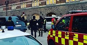 Danimarka'nın Başkentinde Tren İstasyonu Boşaltıldı