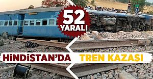 Hindistan'da 8 vagon raydan çıktı! 52 Yaralı