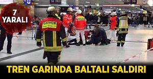 Tren Garında Baltalı Saldırı! 7 Yaralı