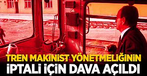 Türk Ulaşım-Sen tren makinist yönetmeliğinin iptali için yargıya gitti