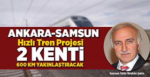 Ankara-Samsun Hızlı Tren Projesi 2 Kenti 600 km Yakınlaştıracak