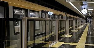 Sürücüsü olmayan metro günde 2 milyon yolcu taşıyacak