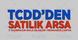 TCDD'den Arsa Satışı! İşte İhale Bilgileri