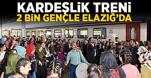Kardeşlik Treni 2 Bin Gençle Elazığ'da
