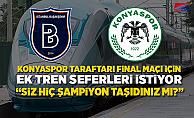 """Konyaspor taraftarından TCDD'ye: """"Siz hiç şampiyon taşıdınız mı?"""